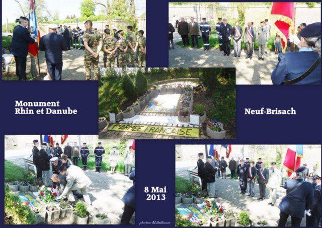 Les cérémonies du 8 mai à Neuf-Brisach