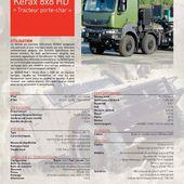 Renault Kerax 8x8 porte-char (complété) - Milinfo
