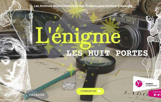 Résolvez l'Enigme, le jeu concours numérique des Archives départementales des Yvelines