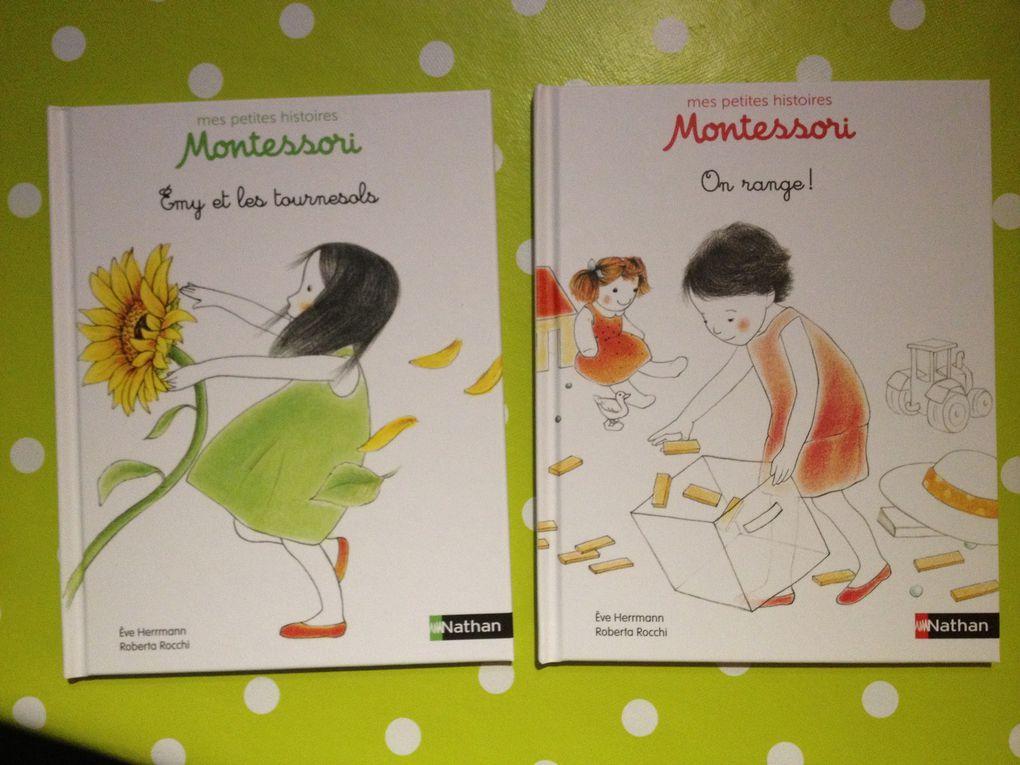 """""""Mes petites histoires Montessori"""", inspirées de la vie réelle (éditions Nathan)"""