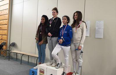 Championne de Ligue M20 Fleuret : Camille Leybros