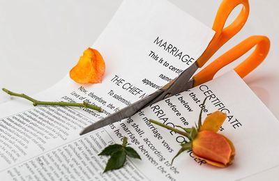 DIVORCE : Les motifs les + courants