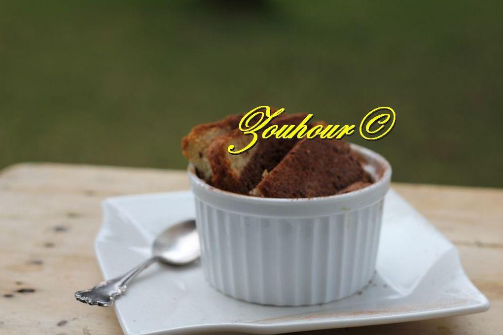 Pain Perdu Brioché Au Chocolat (French toast with chocolate)