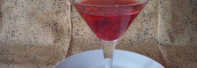 Cocktail : coupe champenoise à la framboise