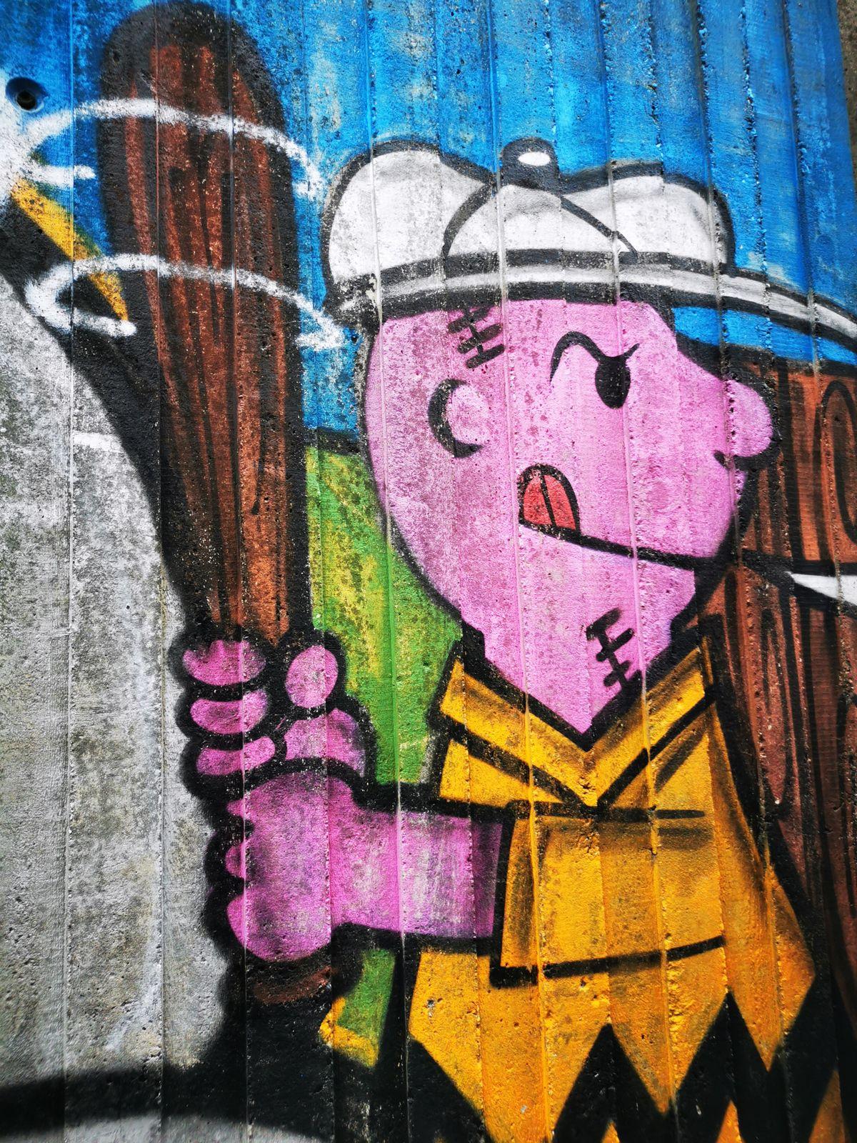 Street art à Villeneuve-la-Garenne