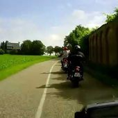 Goldwing Unsersbande - on est parti