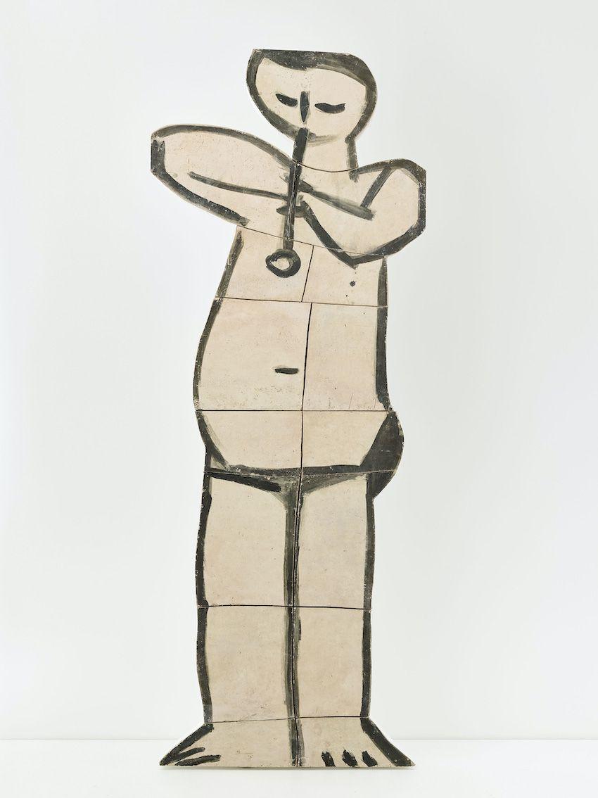 Pablo Picasso, Céramique « Joueur de flûte debout »