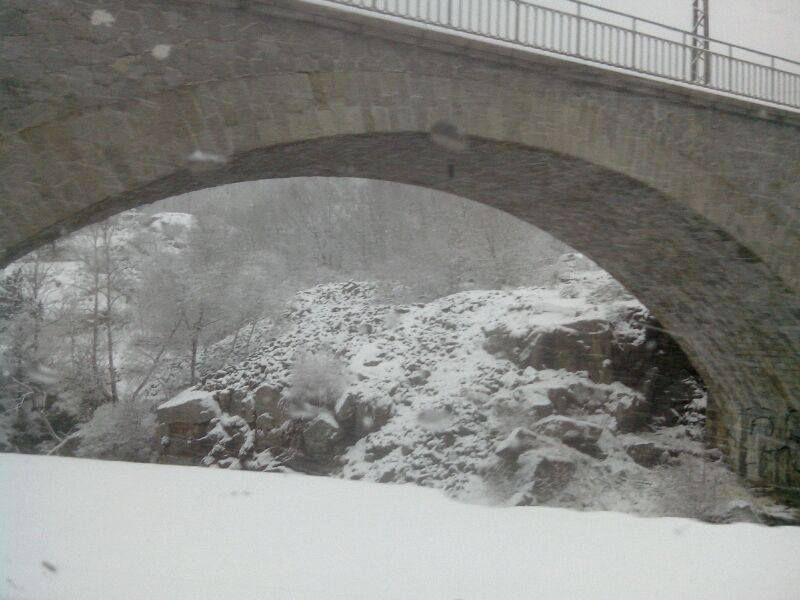 5 km le samedi et 25 km le dimanche dans la neige en pleine montagne... Le trail blanc de la Romeufontaine