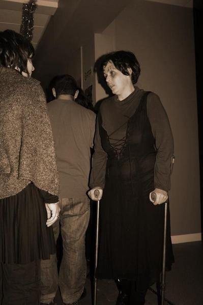 """Photos de la murder """"Patient 13"""" du 13 décembre 2008 au CSCB à Nevers (en co-organisation avec les Conteurs de Chimères)"""