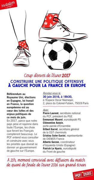 *****30 JUIN, GRAND DEBAT SUR L'EUROPE*****