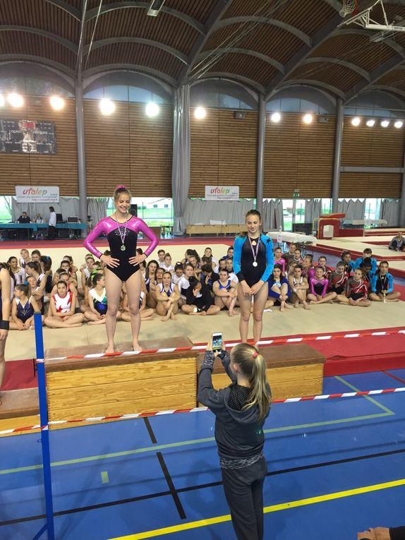 """Les  équipes féminines N5TC et N6TC sont qualifiées pour les """"France"""" - Photos : CMOV Gym"""