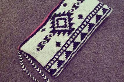 tapestry crochet pur