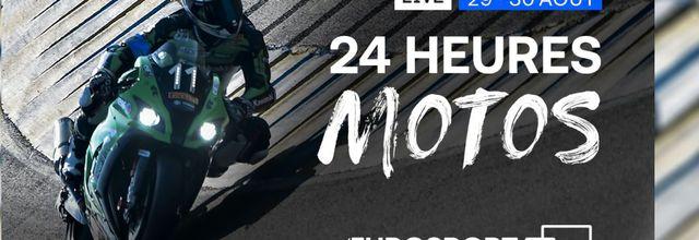 Avec les 24 Heures Motos, l'endurance moto fait sa rentrée ce week-end sur Eurosport !