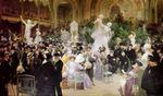 A 281  - HENRI-LÉON JACQUET ET LUCIEN-HECTOR JONAS, DEUX PEINTRES FRANÇAIS DISTINGUÉS PAR LE ROI CHULALONGKORN AU SALON DES ARTISTES FRANÇAIS  Á PARIS EN 1907.