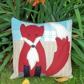 Free Fox Cub Pattern for Newsletter Readers
