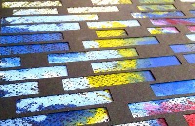 Overlays - Oil pastel