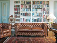 Maisons du Monde - The ChesterfiedBrand - FLEMING & HOWLAND Chesterfied Cromwell - Chesterfied Madison cuir