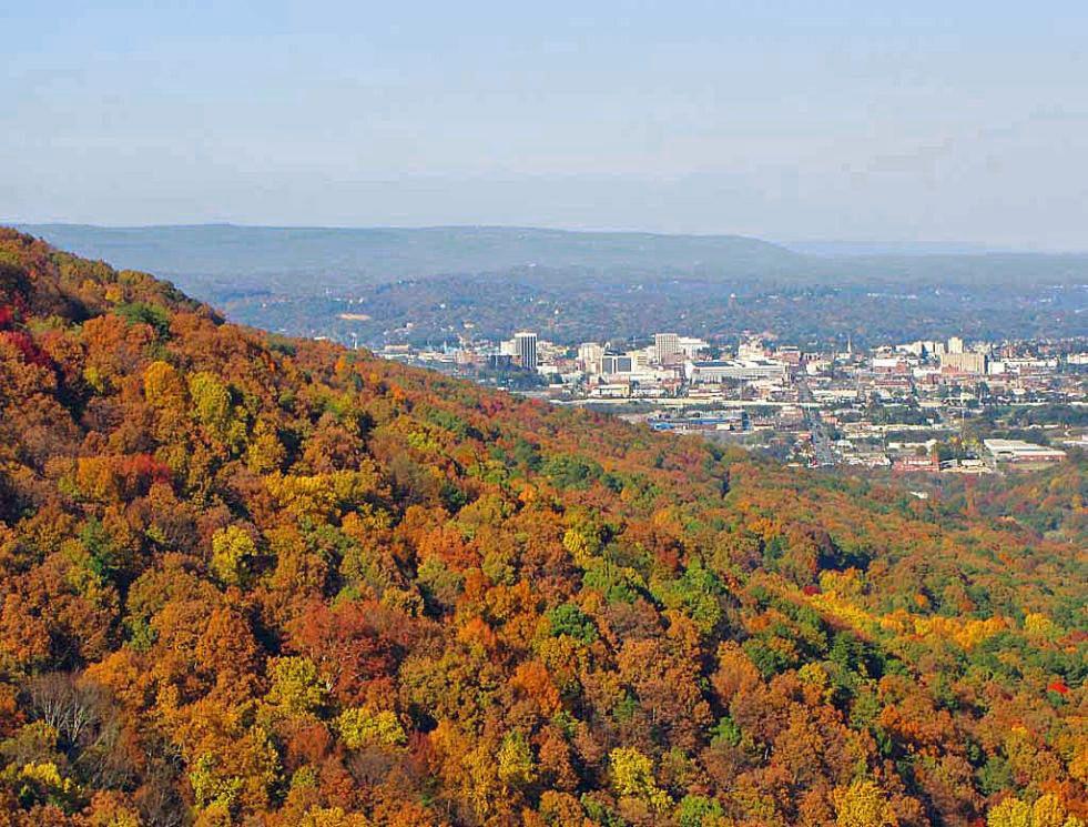 Diaporama : Seven States Overlook printemps/automne