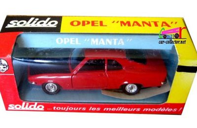 OPEL MANTA 1900 SR COUPE SOLIDO 1/43