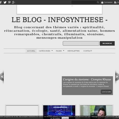 Le blog - infosynthese -
