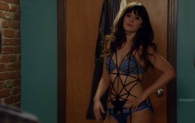 Critiques Séries : New Girl. Saison 1. Episode 8. Bad in Bed.