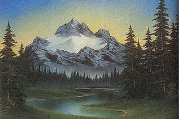 Album - The Joy of Painting by Bob Ross (Images & Videos)