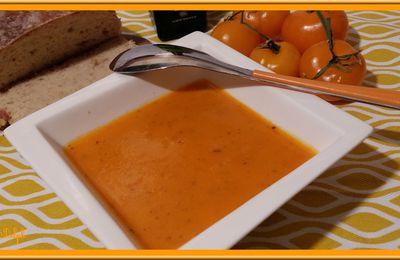 Coulis de tomates oranges au Thermomix