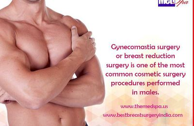How is gynecomastia surgery performed?