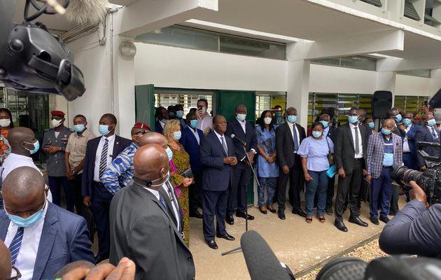 Ouattara appelle au calme après des incidents électoraux