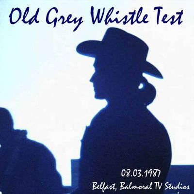 U2 -Old Grey Whistle Test -Balmoral TV Studios - Belfast -Irlande du Nord -08/03/1987