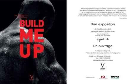 """Vernissage de l'exposition """"Build me Up"""" de Laure Bernard Une exposition chez agnès b"""
