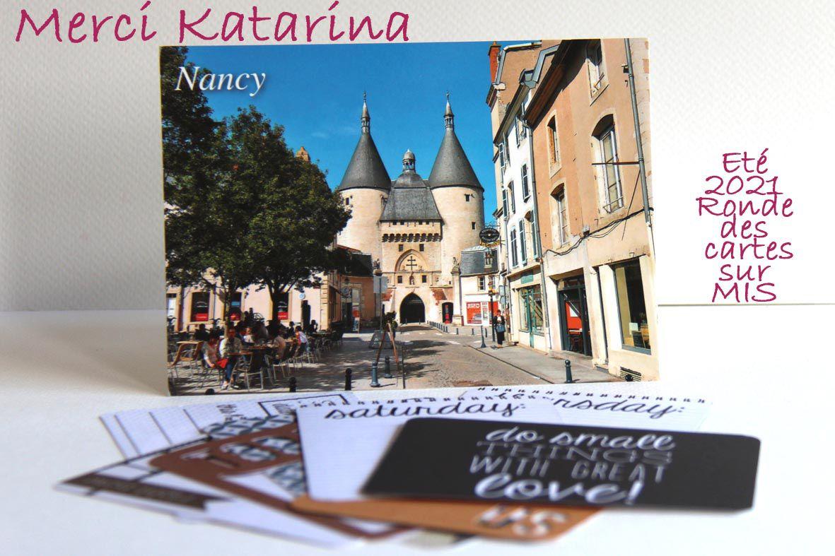 Ronde des cartes sur le forum Made In Scrap_Eté 2021_Katarina