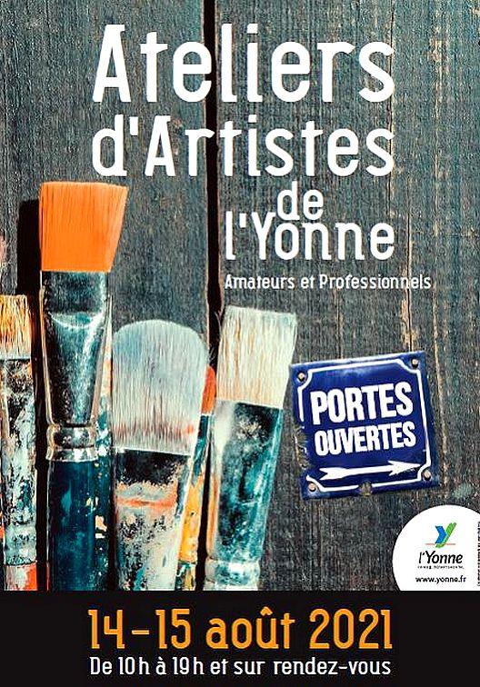 PORTES OUVERTES D'ATELIERS D'ARTISTES DE L'YONNE 2021