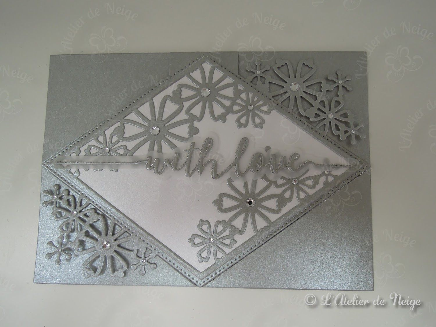 596 - Carte Diamant With Love