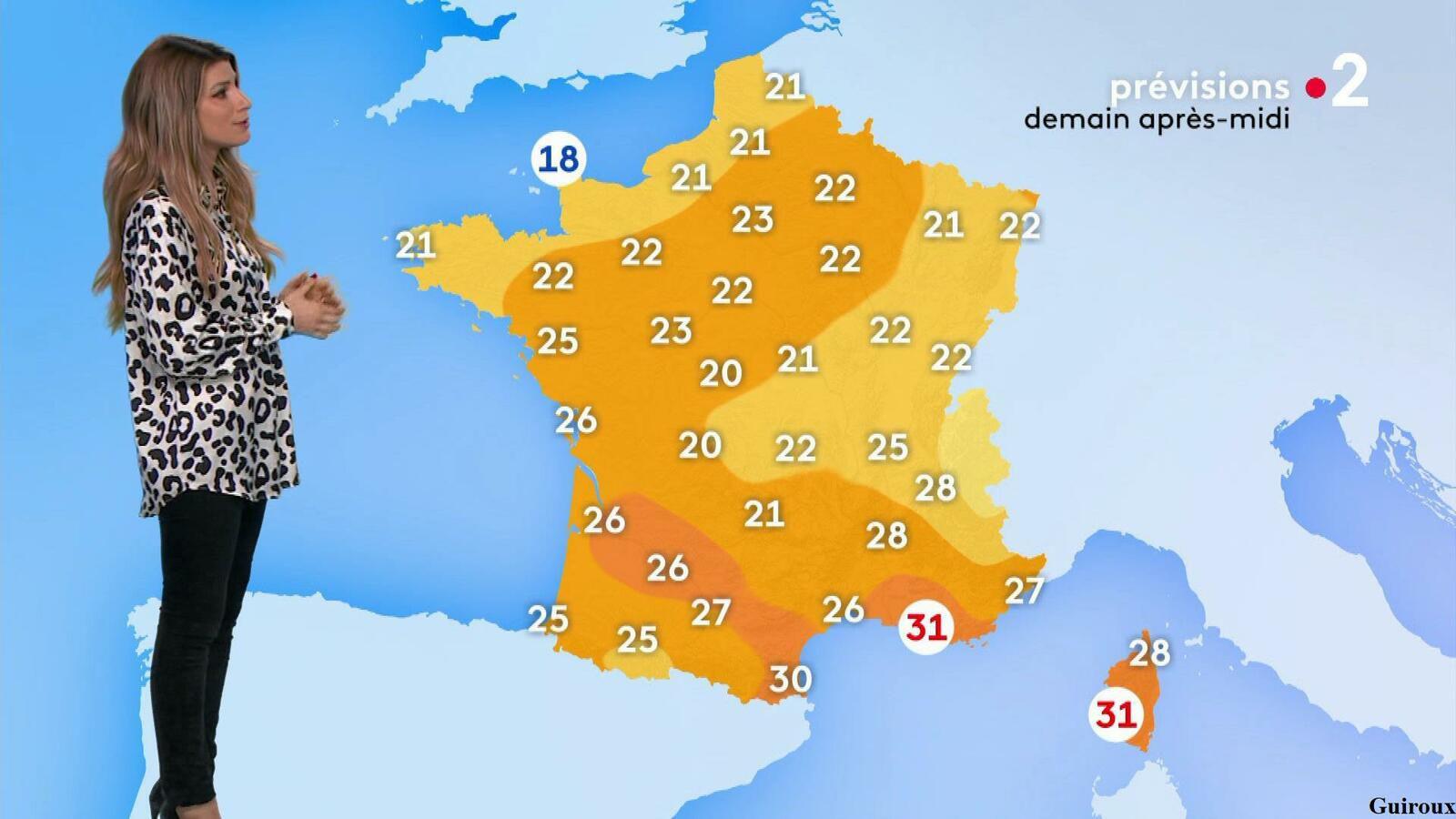 Chloé Nabédian 14/09/2021 Journaux météo du soir