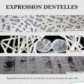 Du 13 au 22 février 2015: Expression dentelles - Les Amis du Musée des Coiffes