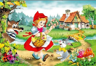 Le Petit Chaperon Rouge - version anglaise