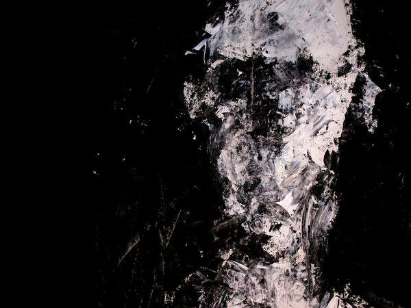 Peintures noir et blanc