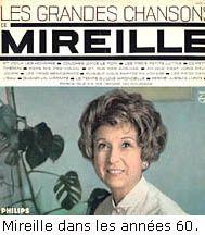 mireille, chanteuse et actrice française qui fut célèbre pour son petit conservatoire