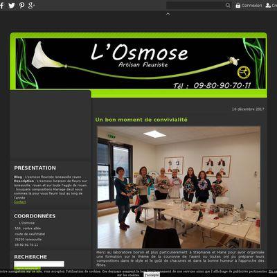 L'osmose fleuriste Isneauville rouen