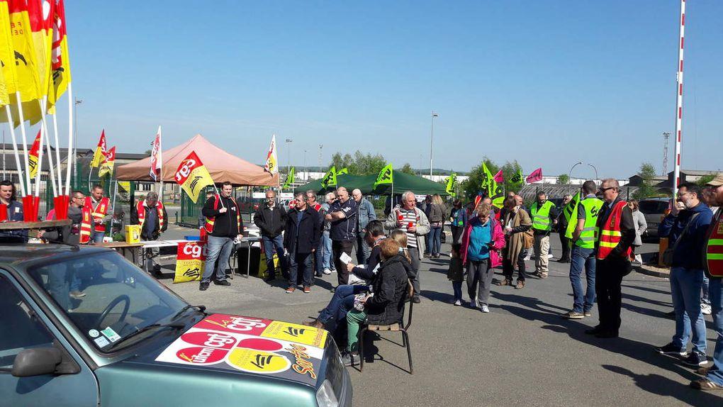 Journée du 4 mai 2018 Piquet passerelle des ateliers -ag et moment convivial en images