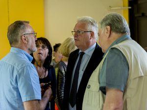 Visite de la délégation municipale - 31 juillet