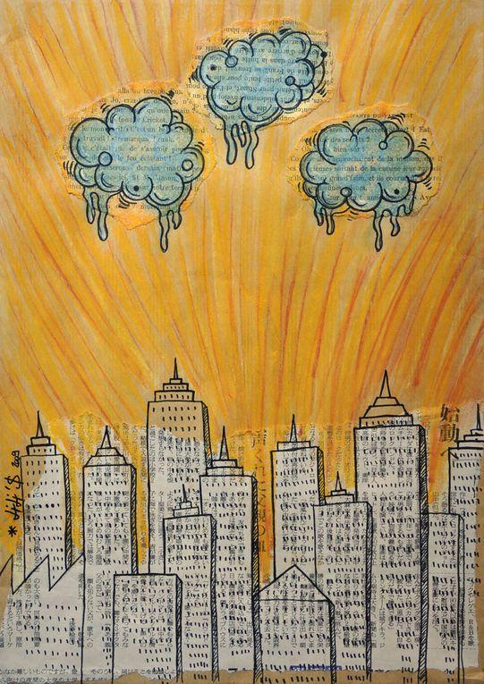 Art contemporain, art urbain, expérimental, performances, installations, et tout!