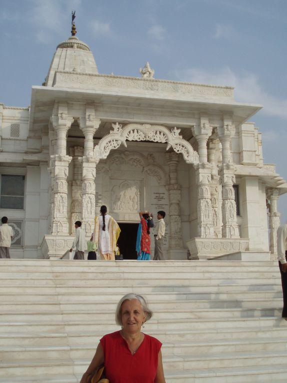 Jaipur la ville rose, et le fort d'Amber