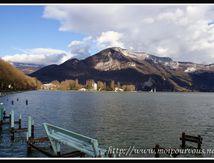 Le lac d'Annecy ...