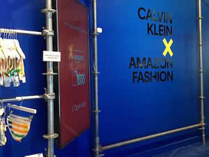 Amazon Fashion Pop-up stores with Calvin Klein in Los Angeles & New York.