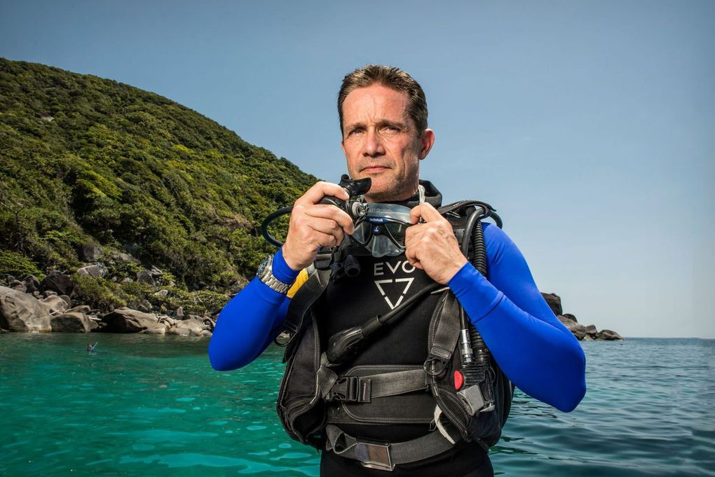 Now is the time to Save the Reef - Fabien Cousteau Comes To Cairns For Seiko