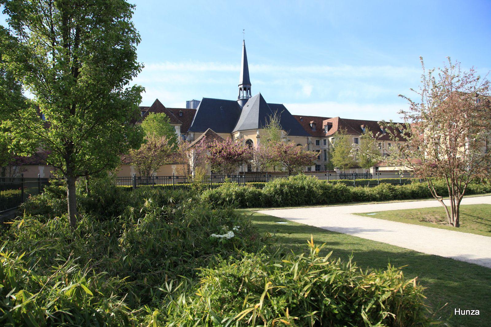 Paris, jardin Catherine Labouré