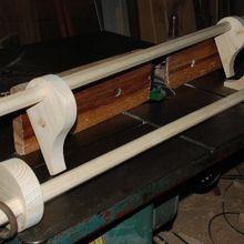 Fabrication d'une tringle à rideau pour meuble