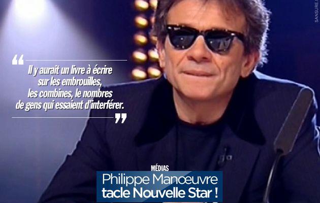 Philippe Manœuvre tacle Nouvelle Star ! #NouvelleStar
